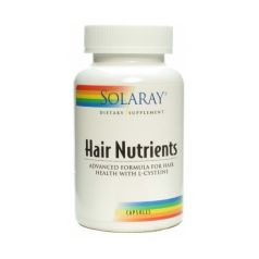 Hair Nutrients Solaray 120 capsulas