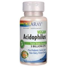 ACIDOPHILUS VEGAN 30 CAPS Solaray