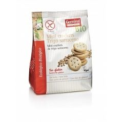 Mini crackers de trigo sarraceno sin gluten