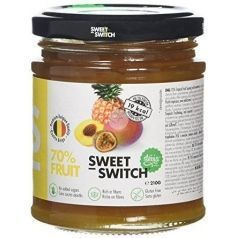 MERMELADA TROPICAL CON STEVIA SIN GLUTEN SWEET SWITCH