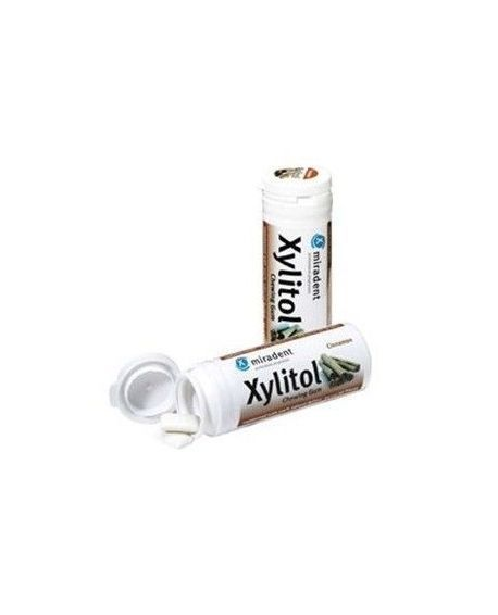 Chicles de canela - 100% Xylitol Natural Miradent