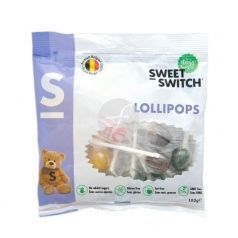 CARAMELOS LOLLIPOP SIN AZUCAR SIN GLUTEN SWEET SWITCH