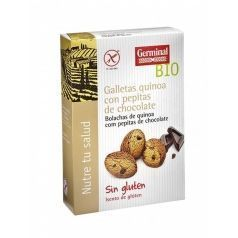 Galletas sin gluten de quínoa con pepitas de chocolate Germinal