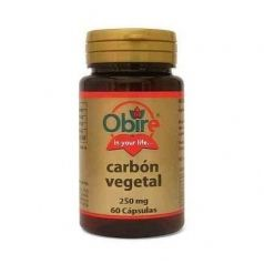 Carbón vegetal Obire 250mg 60cap