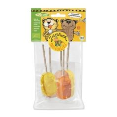 PIRULETAS DE NARANJA FRUSANO Organic Orange Lollipops