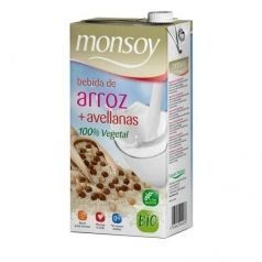 Bebida de arroz natural Bio 1 l Monsoy