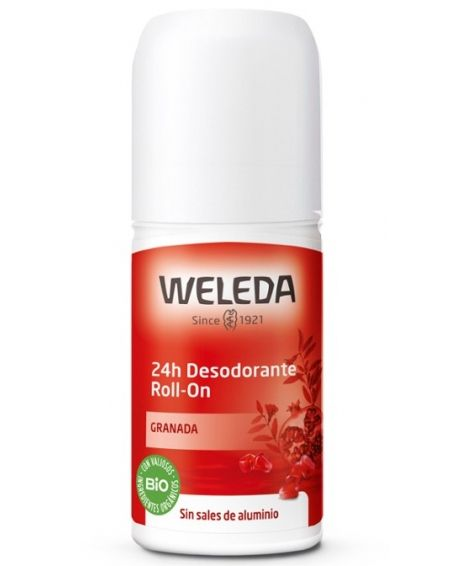 DESODORANTE GRANADA ROLL-ON 24H WELEDA