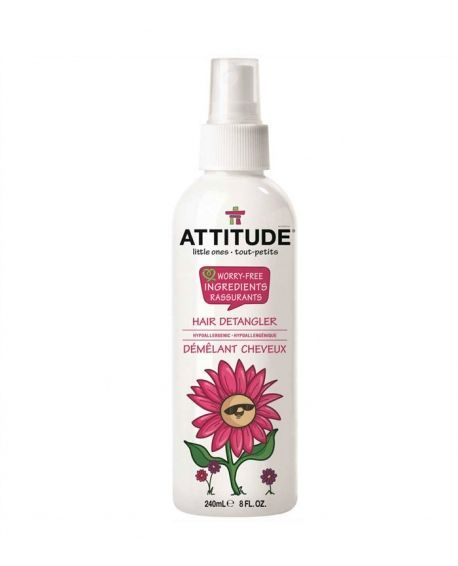Attitude - Spray Desenredante para bebés Little ones 240ml