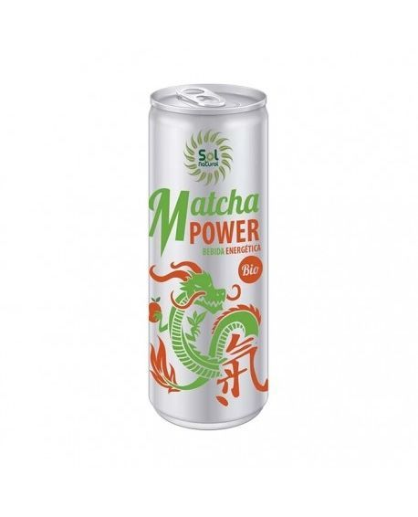 BEBIDA ENERGÉTICA MATCHA POWER BIO 250ml Sol Natural