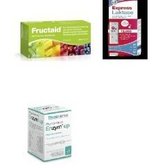 Fructaid 120 + Enzym Up 60 + Lactasa 12000 comprimidos LOTE