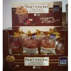 Panettoncino con chocolate Nutrifree 100gr